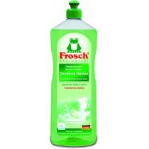 Средство для мытья посуды Frosch 1000 мл зеленый лимон