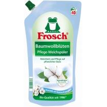 Кондиционер ополаскиватель для белья Frosch 1000 мл цветы хлопка