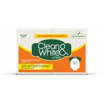 Мыло хозяйственное DURU CLEAN & WHITE 4 х 125 г для стирки детских вещей