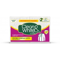 Мыло хозяйственное DURU CLEAN & WHITE 4 х 125 г для удаления сложных пятен