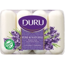 Мыло DURU PURE & NATURAL 4 х 85 г лаванда