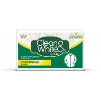 Мыло хозяйственное CLEAN & WHITE by DURU 125 г отбеливающим