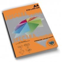 Папір кольоровий SINAR SPECTRA А4 160 г/м2, 100 арк. (Saffron 240) помаранчовий