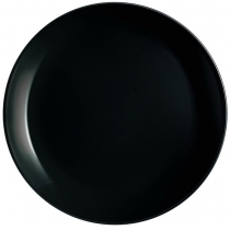 Тарелка LUMINARC DIWALI BLACK /27.3 см/подставн.