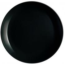 Тарелка LUMINARC DIWALI BLACK /25 см/обед.