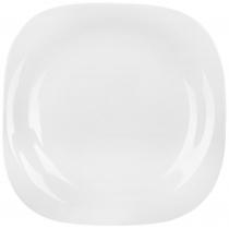 Тарелка LUMINARC CARINE WHITE /26 см /обед.