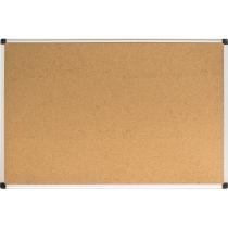 Доска пробковая, 90х60 см, алюминиевая рамка