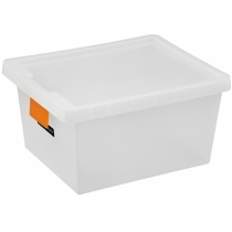 Контейнер для хранения Plast Team TagStore 22 х 33,5 х 41,5 см 21л с крышкой