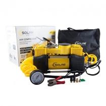 Компресор автомобільний SOLAR 10 Атм, 85 л/хв. 2-циліндра 5,7м