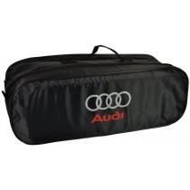 Сумка-органайзер в багажник Audi черная