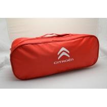 Сумка-органайзер в багажник Citroen красная