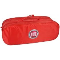 Сумка-органайзер в багажник Fiat красная