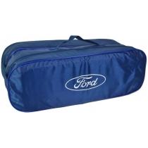 Сумка-органайзер в багажник Ford синяя