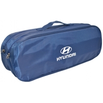 Сумка-органайзер в багажник Hyundai синя