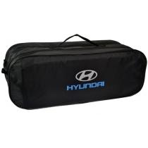 Сумка-органайзер в багажник Hyundai черная