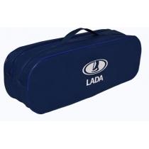 Сумка-органайзер в багажник Lada синяя
