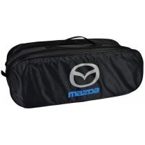 Сумка-органайзер в багажник Mazda черная
