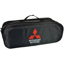 Сумка-органайзер в багажник Mitsubishi чорна