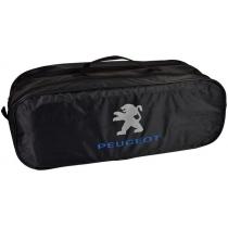 Сумка-органайзер в багажник Peugeot черная