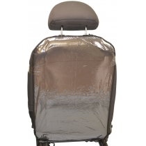 Накидка защитная Poputchik на спинку автомобильного кресла 44 х 65 см