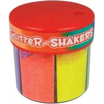 "Блестки для декорирования ""Neon Glitter Shaker"", 50г, 6 цветов"