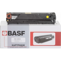 Картридж тонерный BASF для Canon LBP-5050/5970 аналог 1977B002 Yellow (BASF-KT-716Y-1977B002)