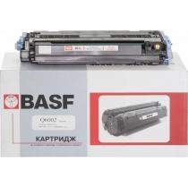 Картридж тонерный BASF для HP CLJ 1600/2600/2605 аналог Q6002A Yellow (BASF-KT-Q6002A)