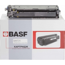 Картридж тонерный BASF для HP CLJ 3600/3800 аналог Q6472A Yellow (BASF-KT-Q6472A)