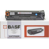 Картридж тонерный BASF для HP CLJ CP1215/CP1515/CM1312 аналог CB541A Cyan (BASF-KT-CB541A)