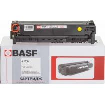 Картридж тонерный BASF для HP CLJ M351a/M475dw аналог CE412A Yellow (BASF-KT-CE412A)