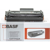 Картридж тонерный BASF для HP LJ 1010/1020/1022, Canon MF4110/4120 аналог Q2612A/FX9/FX10 Black (BAS