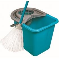 Набор для уборки МОП СЕТ ведро 14 л + МОП + кий цвет ассорти