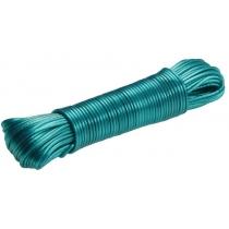 Шнур для білизни 30 м ПВХ колір асорті