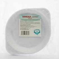 Тарелки одноразовые 350 мл 25 шт