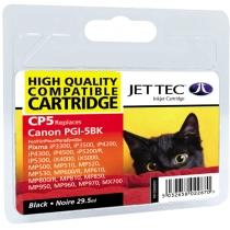 Картридж струйный JetTec для Canon Pixma iP4200/iP4500/iP5300 аналог PGI-5Bk Black (110C000501)