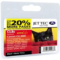 Картридж струйный JetTec для Canon Pixma iP4200/iP4500/iP6600 аналог CLI-8B Black (1338BJT) повышенн