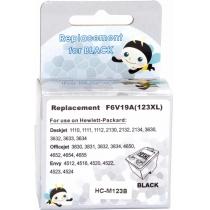 Картридж струменевий MicroJet для HP DJ 2130 аналог HP №123XL Black (HC-M123B) підвищеної ємності