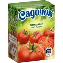 Сок Садочок томатный, 0,2л