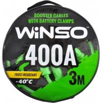 Провода-прикуриватели 400А, 3м, круглая сумка