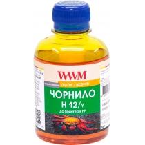 Чернила для HP №10/11/82 200г Yellow Водорастворимые (H12/Y)