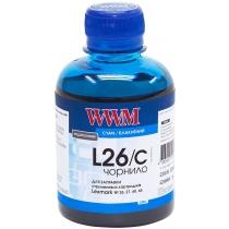 Чернила для Lexmark №26/27 200г Cyan Водорастворимые (L26/C)