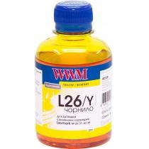 Чернила для Lexmark №26/27 200г Yellow Водорастворимые (L26/Y)