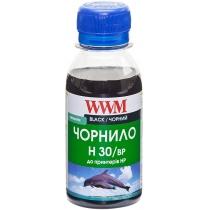 Чернила для HP №21/121/122 100г Black Пигментные (H30/BP-2)