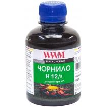 Чернила для HP №10/11/12 200г Black Водорастворимые (H12/B)