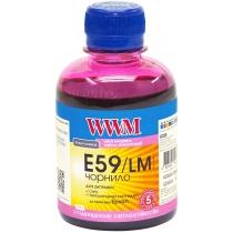 Чернила для Epson Stylus Pro 7890/9890 200г Light Magenta Водорастворимые (E59/LM) светостойкие
