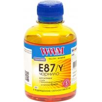 Чернила для Epson Stylus Photo R1900/R2000 200г Yellow Водорастворимые (E87/Y) светостойкие
