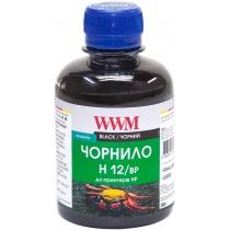 Чернила для HP №10/11/12 200г Black Пигментные (H12/BP)