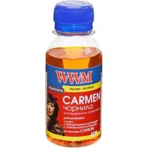 Чернила CARMEN для Canon 100г Yellow Водорастворимые (CU/Y-2) универсальные
