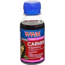 Чернила CARMEN для Canon 100г Magenta Водорастворимые (CU/M-2) универсальные