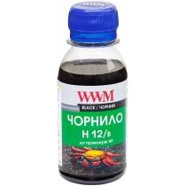 Чернила для HP N10/13/14/82 100г Black Водорастворимые (H12/B-2)